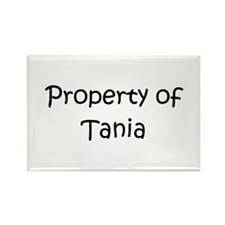 Cool Tania Rectangle Magnet