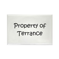 Cute Terrance name Rectangle Magnet