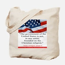 Not A Christian Nation Tote Bag