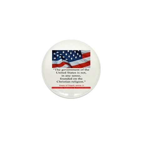 Not A Christian Nation Mini Button (100 pack)