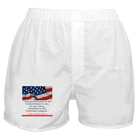 Not A Christian Nation Boxer Shorts