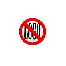 anti-logo Mini Button