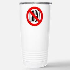 anti-logo Travel Mug