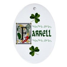 Farrell Celtic Dragon Keepsake Ornament