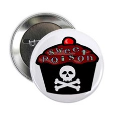 "Sweet Poison 2.25"" Button"