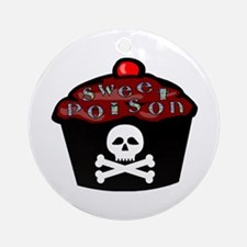 Sweet Poison Ornament (Round)
