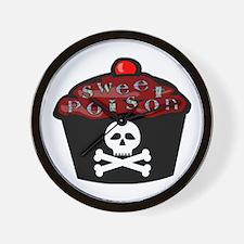 Sweet Poison Wall Clock