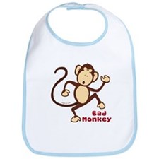 Bad Monkey Bib