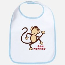 Bad Monkey Bib