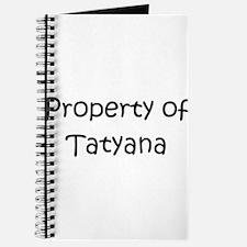 Cute Tatyana Journal