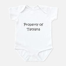 Cute Tatyana Infant Bodysuit