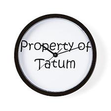 Unique Tatum Wall Clock