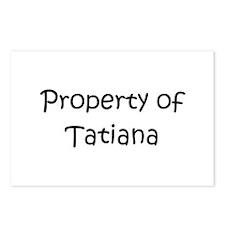 Unique Tatiana Postcards (Package of 8)