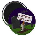 McCain? Hell No! Halloween Magnet