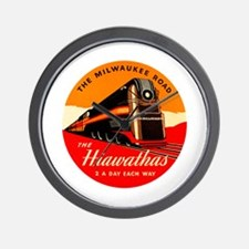 Hiawathas Wall Clock
