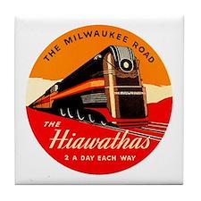 Hiawathas Tile Coaster