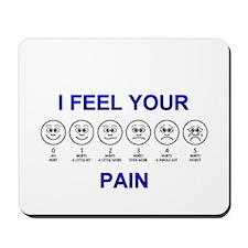 Pain Scale Mousepad