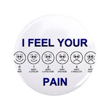 "Pain Scale 3.5"" Button"