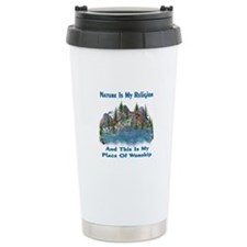 Nature Is My Religion Travel Mug