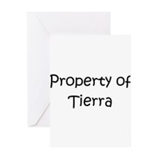 Cool Tierra Greeting Card