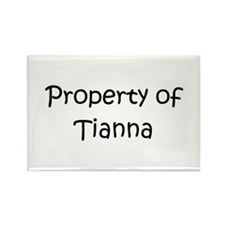 Unique Tianna Rectangle Magnet (10 pack)