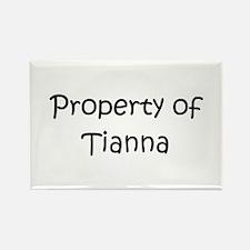 Cool Tianna Rectangle Magnet
