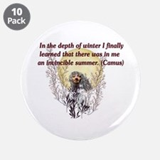 """Winter Pagan Goddess 3.5"""" Button (10 pack)"""