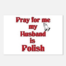 Pray for me my husband is Polish Postcards (Packag