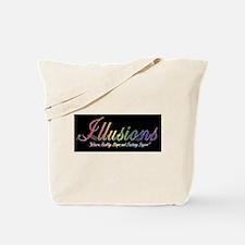 Cute Illusions logo Tote Bag