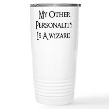 Wizard Personality Travel Coffee Mug