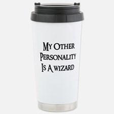 Wizard Personality Travel Mug
