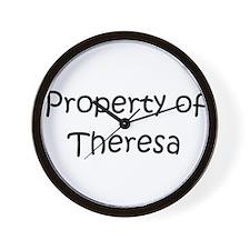 Cute Theresa Wall Clock
