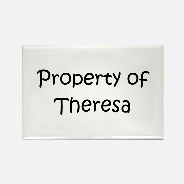 Cute Theresa Rectangle Magnet