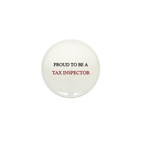 Proud to be a Tax Inspector Mini Button (10 pack)