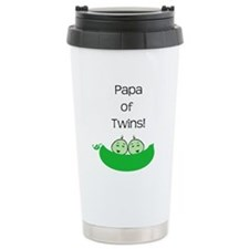 Papa of twins Travel Mug