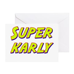 Super karly Greeting Card