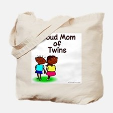 Proud Mom of Twins ENC Tote Bag