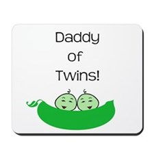 Daddy of twins Mousepad