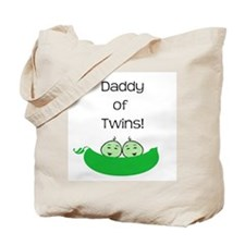 Daddy of twins Tote Bag