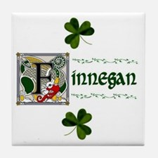 Finnegan Celtic Dragon Ceramic Tile