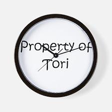 Cute Tori Wall Clock