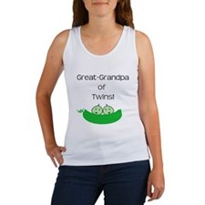 Great Grandpa of twins Women's Tank Top