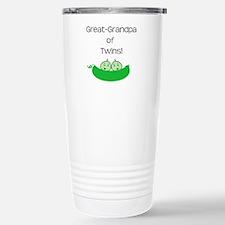 Great Grandpa of twins Travel Mug