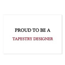 Proud to be a Tapestry Designer Postcards (Package