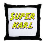 Super karl Throw Pillow