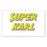 Super karl Rectangle Sticker