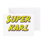 Super karl Greeting Card