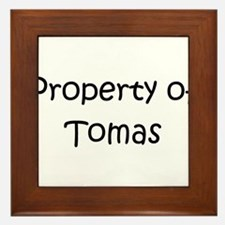 Unique Tomas Framed Tile