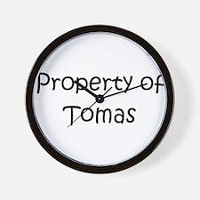 Unique Tomas Wall Clock