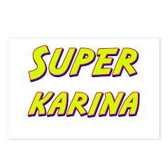 Super karina Postcards (Package of 8)